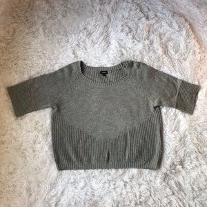 3/$25 Mexx Short Sleeve Wool Knit Cropped Sweater